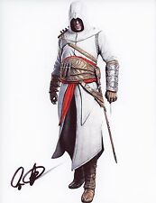 """CAS ANVAR Authentic Hand-Signed """"Assassin's Creed: Revelations"""" 8.5x11 photo"""