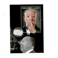 VINTAGE CLASSICS - Sierra Leone 2063 - Alfred Hitchcock - Souvenir Sheet - MNH