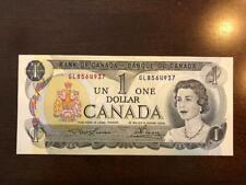 New listing 1973 Canada One Dollar Bill Uncirculated Crisp 85a. Lawson-Bouey