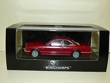 Minichamps Bentley Continental R metallic red REF:436 139920