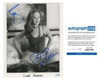 """Leah Remini """"The King of Queens"""" AUTOGRAPH Signed 8x10 Photo ACOA"""