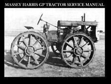 MASSEY HARRIS GP 4WD TRACTOR SERVICE MANUAL 100pg for General Purpose Repair