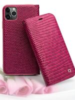 QIALINO Crocodile Genuine Leather Flip Case Cover f iPhone 12 11 Pro X XS Max 78