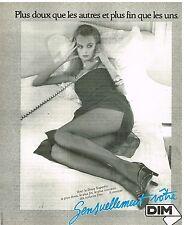 Publicité Advertising 1978 Les Collants Superfin DIM