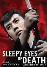 Sleepy Eyes of Death - Collector's Set: Vol. 1 (DVD, 2009, 4-Disc Set)