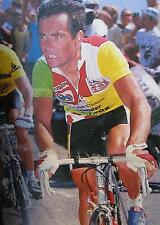 "BERNARD HINAULT ""THE BADGER"" TOUR DE FRANCE 1986 RETRO POSTER"