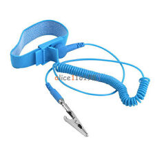 2PCS Brand Anti Static ESD Wrist Strap Discharge Band Grounding Prevent Static
