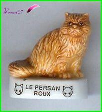 """Feve Les Races de Chat Cat Edition Atlas """" Le Persan Roux """"  #A13"""