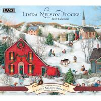 2019 Linda Nelson Stocks Wall Calendar, Lang Folk Art by Lang Companies