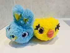 Toy Story 4 Disney store Furry Slippers  Uk 7-8 NEW WITH Out Tag