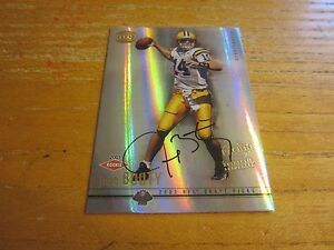 Josh Booty Autographed 2001 Pacific Dynagon #113 #'d 244/499 ROOKIE Card Browns