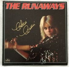 Autographed The Runaways S/T Vinyl Cherie Currie, Lita Ford, and Joan Jett