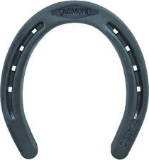 New listing Diamond Farrier Dc2B Basic Flat Horseshoe, 5-3/4 in L, 5-1/4 in W, 1/4 in Thick,