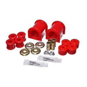 Energy Suspension 40.5022R Sway Bar Bushing Set PU For 89-11 Ford F53 NEW