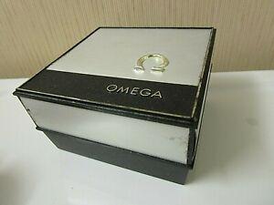 "Vintage Omega Watch Box. 4 1/8"" x 4 1/8"" x 2 1/2"""