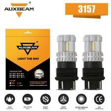 AUXBEAM 3157 3156 4157 LED White Reverse Turn Signal Backup Corner Light bulb