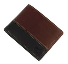 Timberland D87242/00 Men's Vintage Two Tone Commuter Wallet Id Fixed Passcase