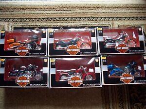 Harley Davidson MAISTO 1/18 SERIES 13  Motorcycle Toy NEW