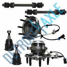 Brand New 6pc Complete Front Suspension Kit for Express 2500 3500  2WD & 8 LUGS