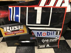 Clint Bowyer 14 Mobil 1 Nascar Race Used Sheetmetal  Front Quarter Panel