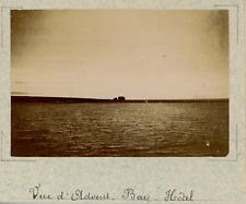 Norvège, Advent Bay, vue sur l'hôtel  vintage albumen print,Photos proven