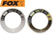 Fox Snag Leader Line Clear 100m CML067 0 60mm 45lb Top/neu
