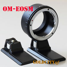Olympus OM Adapter to EOS M EF-M Mirrorless Camera OM-EOSM Adapter With Tripod