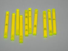 Lego Lot Of 10 Trans Yellow Light Sabers Star Wars Weapons