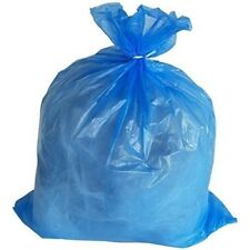 PlasticMill 50-60 Gallon, Blue, 1.5 MIL, 36x55, 100 Bags/Case, Garbage Bags / Tr