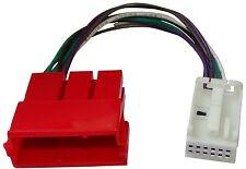 Câble connecteur adaptateur AUX CD 8pin mini-ISO Quadblock 12pin pour Audi Seat