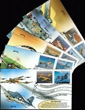 2005 - Bevil - Matched Set of 5 Covers - American Aviation - #3916-3925