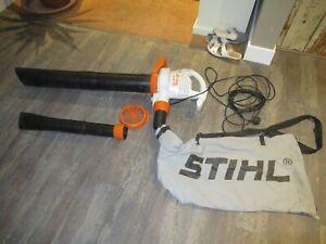 Stihl SHE 71 Electric leaf blower/ Vacuum