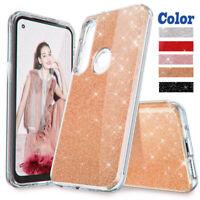 For Motorola Moto G Power/G8 Power Bling Glitter Case Armor Rugged Rubber Cover