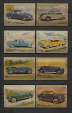 Nice Lot of 1951/1952 Vintage 1950s Dutch Car Oldtimer Trading Cards