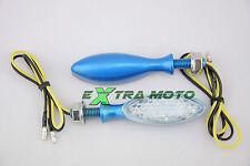 Frecce moto a LED OMOLOGATE universali Yamaha Honda Ducati MV Agusta Buell 130BL