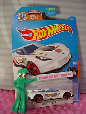 2016 Hot Wheels CORVETTE C7.R #1✰Kmart Exclusive WHITE;2;Red;pr5✰RACE TEAM✰Q