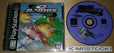 G. Darius (PlayStation 1, 1998) Complete Game SHMUP NEAR MINT - Ships NEXT DAY