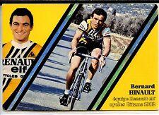 CP Sport - Cyclisme - Equipe Renault Elf Cycles Gitane 1982 - Bernard Hinault