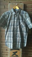 NWT Volcom Vex Factor Plaid Shirt Men's size M