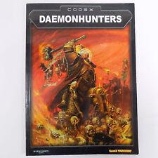 DAEMONHUNTERS Codex WARHAMMER 40K War Game Book Miniatures