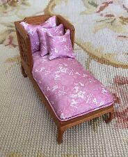 Bespaq/Pat Tyler Dollhouse Miniature Sofa Seat Couch Lounge Settee Pink p319