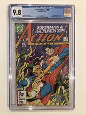 Action Comics #589 CGC 9.8 John Byrne GREEN LANTERN 1987