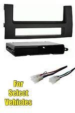 04-09 Toyota Prius Radio Install Single Din Dash Car Stereo Kit + Wire Harness
