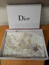 Authentic Dior Empty White Gift Storage Box 12.5� X 9� X 4.5 with Dior Tissue