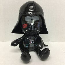 Galerie Lucas Star Wars Darth Vader Black Vinyl Plush Kiss Mark On Cheek