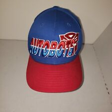 New Era 9FIFTY Autobots Optimus Snapback Hat Baseball Cap Transformers Red Blue