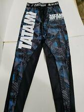 Tatami Essentials Urban Mens MMA BJJ No Gi Competition Spats Compression Pants