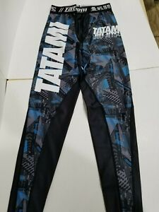 Tatami Essentials Urban Mens MMA BJJ No Gi Competition Spats Compression Pants