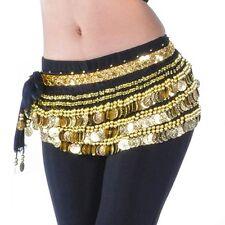 【338 Coins】Belly Dance Belt Heavy & Loud Hip Scarf Skirt Wrap Dancing AB02