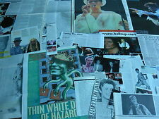 DAVID BOWIE - MAGAZINE POSTER/CUTTINGS COLLECTION (REF T8B)